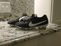 pair of black-and-white Nike running shoes Westford, 01886