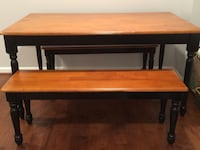 Table with two benches. Excellent condition Ashburn, 20147