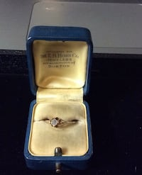 20 +- pt round diamond solitaire 14k ring beautiful  Manchester, 03101