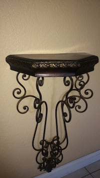 black metal candle holder with white pillar candle Jurupa Valley, 92509