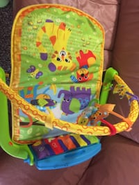 Baby play mat with musical piano null