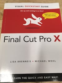 Final Cut Pro X book Toronto, M5A 0E9