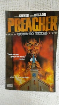 Preacher game guide book