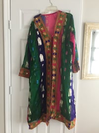 green, red, and yellow floral traditional dress Ashburn, 20147
