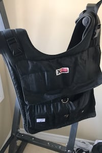 Xvest 84 lbs max weighted vest Guelph, N1E 0K6