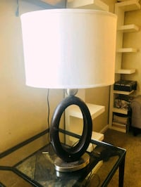 white and black table lamp Citrus Heights, 95610