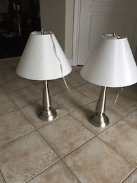 Selling 2 pairs of lamps brand new And 2 others opened. Hamilton, L0R 1C0