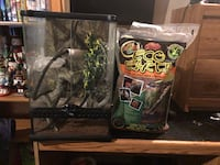 gecko tank and accessories  Kelowna, V1X 5N1