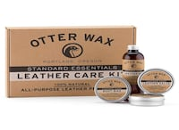 Otter Wax Leather Care Kit - FOR ALL LEATHER PRODUCTS 26 km