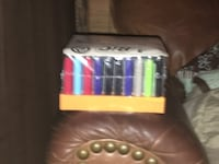 50Count big lighters brand new and case sealed LASVEGAS