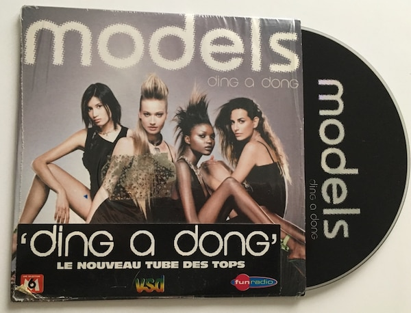 Models cd single ding a dong