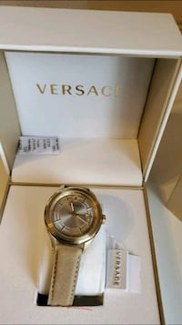 Versace wrist leather watch.(authentic swiss made)no LOW BALLERS Aspen Hill, 20906