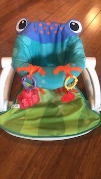 Fisher Price Sit Me Up Seat - Frog