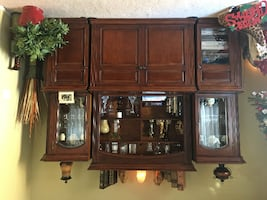 TV entertainment center and dining room set