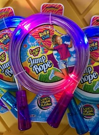 Light Up Jump Rope. Brand New - 5 Available at $6 each. BRAND NEW. **See what else I have for sale** Stockton, 95209