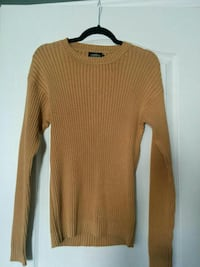 Mustard Sweater (Small) Vaughan, L6A 3P3