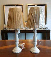 NEW! Two Lamps with Shades.