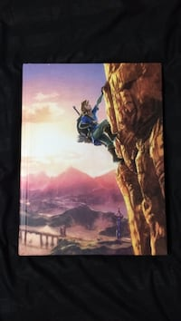 The Legend of Zelda: Breath of the Wild - Strategy Guide - Hardcover Calgary, T3M 1N1