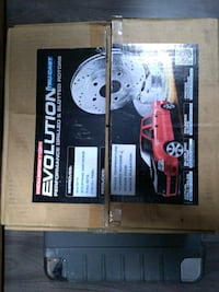 StopTech Drilled and Slotted Rotors