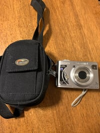 Sony camera and pouch