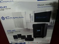 Cayman HD-41 5.1 home theater system box
