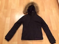 TNA (Aritizia), short, black parka size small - $160 - sell or trade possibly Vail style;    Mississauga Mississauga