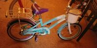 Girls blue and white cruiser bike Detroit, 48235