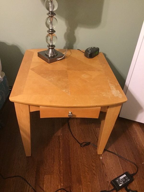 Bedside (nightstand) tables with drawer
