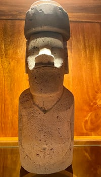 Rare- genuine Moai carved by a Rapa Nui craftsman on Easter Island Rockville, 20852