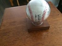 Signed Barry Bonds Baseball Gilbert, 85233