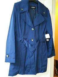 Blue Trench Coat Size S or XL water resistant Alexandria, 22304