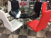Firm price five piece dining room set lots of colors to choose from Hialeah Gardens