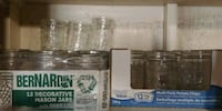 40 wide mouth 500mL mason jars Surrey, V3X 2W9