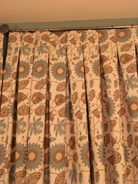 Drapes, custom, lined, inverted pleat Purcellville