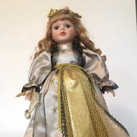 Vintage Ceramic Doll Ellicott City