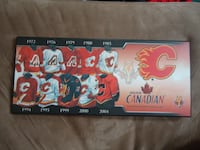 Calgary Flames Molson Canadian Jersey Plaque 2004 null