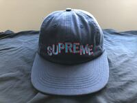 Supreme Stepped Arc Hat