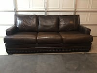 Brown leather couch Murfreesboro, 37129