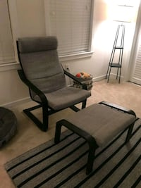 black and gray rolling armchair Baltimore, 21231