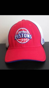 Detroit Pistons Adidas Stretch Fit Hat Saint Charles, 63301
