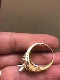 18 k real gold ring size 9, 7.4 grams, its not dimond North Vancouver, V7K 2H4