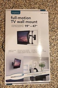 TV Mount (Simplicity Full Motion) NEW