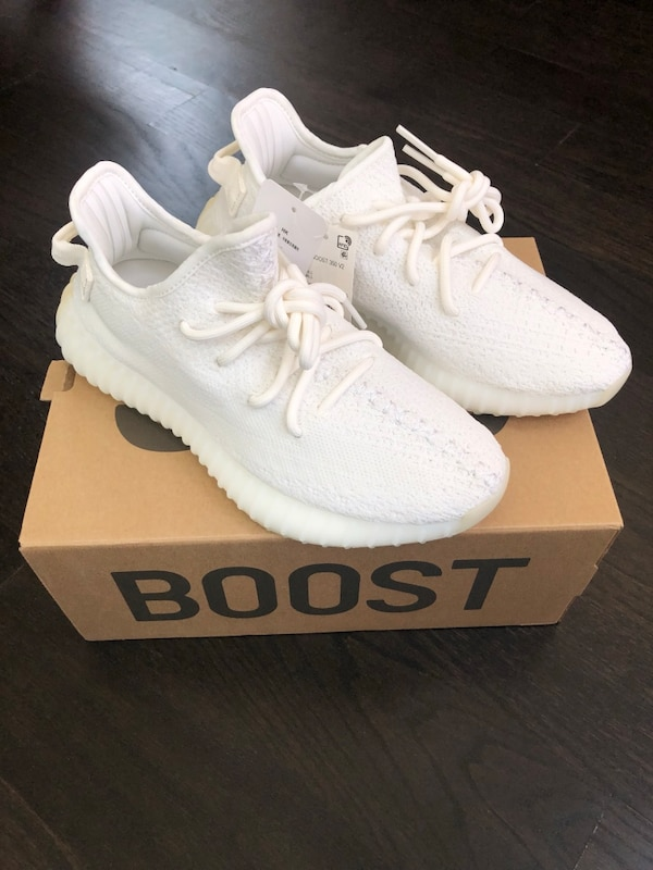 new style 69a2a 69b81 adidas Yeezy Boost 350 V2 Cream/Triple White
