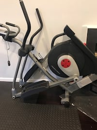 black and gray elliptical trainer Herndon