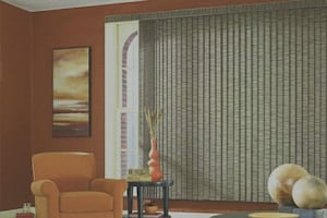 Vertical Blinds, 84w x 76h, new