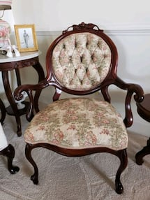 Victorian Ladies and Gentlemens Chairs