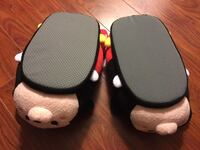 Brand new Disney plush slippers Adult , one size