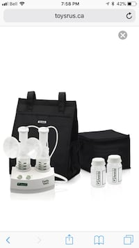 Ameda Purely Yours Breast Pump with CarryAll Toronto, M6G 3X8