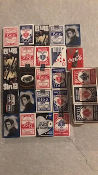 34 pack of playing cards 564 km