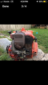 black and red ride-on mower Guelph, N1E 2E7